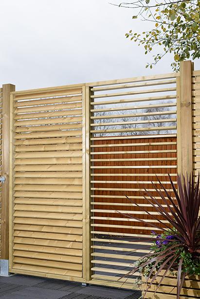 Gentil ... Decorative Fencing; Adjustable Garden Screen