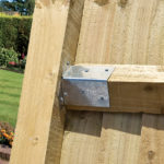 Arris rails should be fitted to (and span between) the notched posts to allow the featheredge boards to be installed. Versatile and pre-treated ideal for fencing projects.