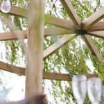 The Carousel Pergola is a timeless garden structure. The curves of the top beam reflect the natural shapes in your garden, whilst providing an effective frame for a garden feature beneath. The pressure-treated pale green timber protects from wood rot and decay