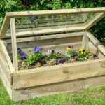 This wooden Cold Frame is perfect for gardeners of smaller gardens and allotments and is ideal for protecting seedlings, or for covering vegetable and flowerbeds. The sturdy frame is made up of a pressure treated timber body, finished with a strong plexiglass lid.