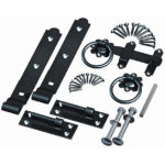 Hook & Band Hinges and Ring Handle Kit