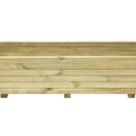 This Elite Rectangle Planter is a robust planter ideal for planting displays, or growing vegetables. The smooth pressure treated timber is planed and heavy duty. The sturdy frame is supported by a metal locating pin in each corner, ensuring long-term durability.