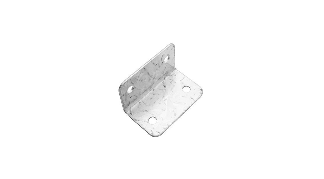 L-shaped clip