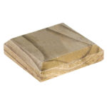 The Flat Timber post cap is great for finishing off a 75mm sq. post; this will help prolong the life of the post as well as providing a decorative feature. The cap is pressure treated to ensure protection from wood rot and decay and available in a natural pressure treated green or dipped brown colour to complement fencing.