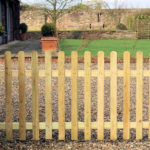 ROUND TOP PALISADE FENCE The Round Top Palisade Panel is ideal for constructing a new fence run or repairing an existing one, making your garden a private space to relax in. Its durable planed timber construction has been pressure-treated to offer protection for longevity in use.