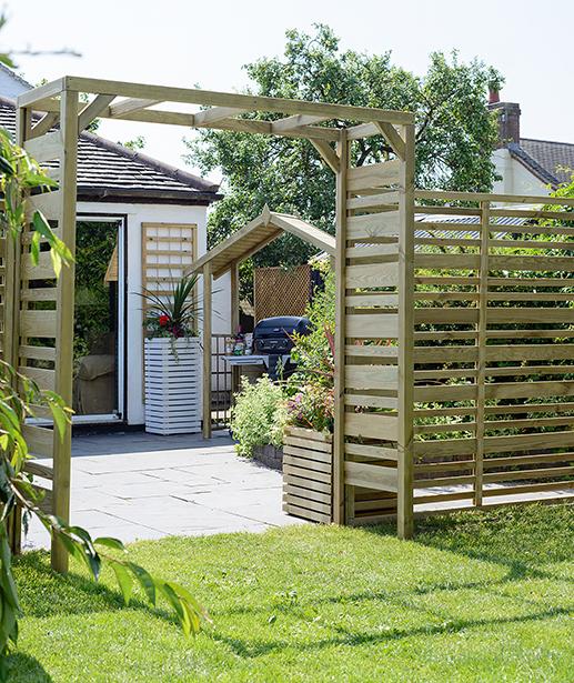 Delicieux ... Decorative Fencing; Urban Garden Screen