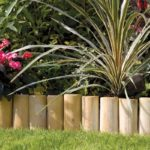 This timber log roll edging is perfect for creating a border along a lawn. It is manufactured from pressure treated timber and quick and easy to fit. The versatile roll can be used on straight or curved edges.