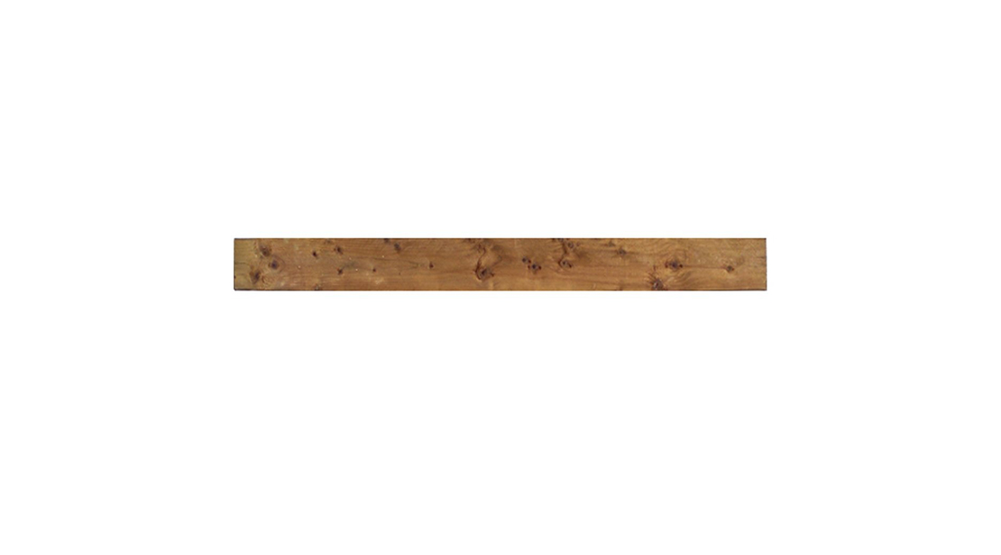 A 183cm wide gravel board ideal to use with traditional styles of fencing. Available in both pressure treated green and pressure treated brown colours to complement fencing and provide protection from wood rot and fungal decay. A wider version is also available pressure treated for use with the Grange Featheredge System.