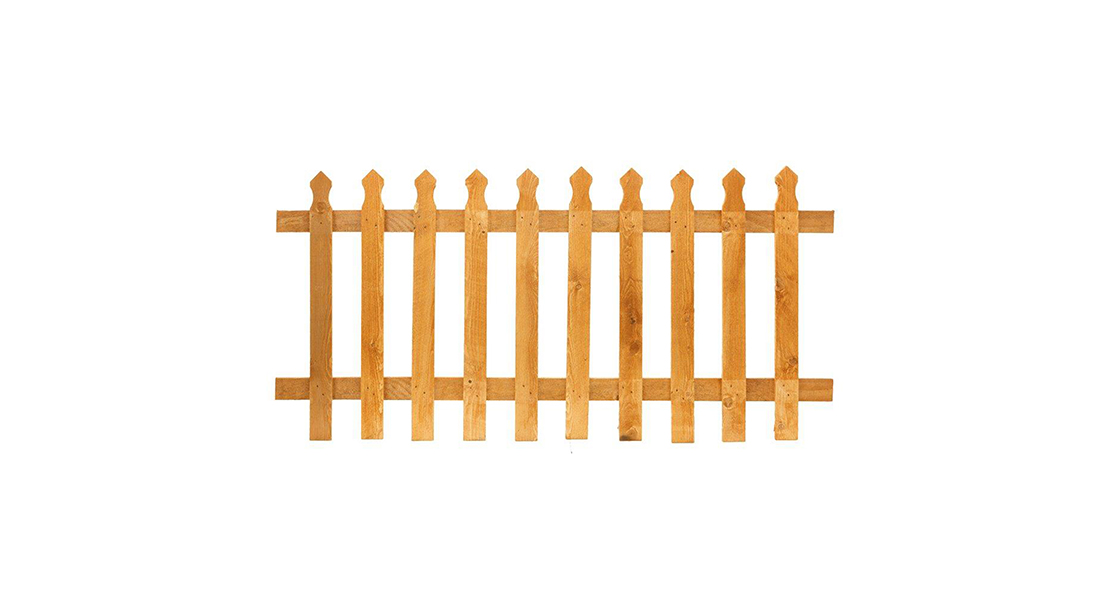 PALISADE PANEL Manufactured from finely sawn timber, the tulip offers a stylish but modest design of fencing for your garden or parameter. This panel is available pressure-treated golden brown which protect the timber from wood rot and fungal decay. It is recommended to use the Tulip Mortised Posts