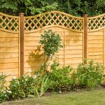SUPERIOR LATTICE TOP FENCE PANEL The latest member of the Superior Lap family, this stunning panel is the perfect combination of strength and beauty. The fully mortise and tenon jointed frame secures double waney edge slats, which are complemented with an eye catching lattice top.
